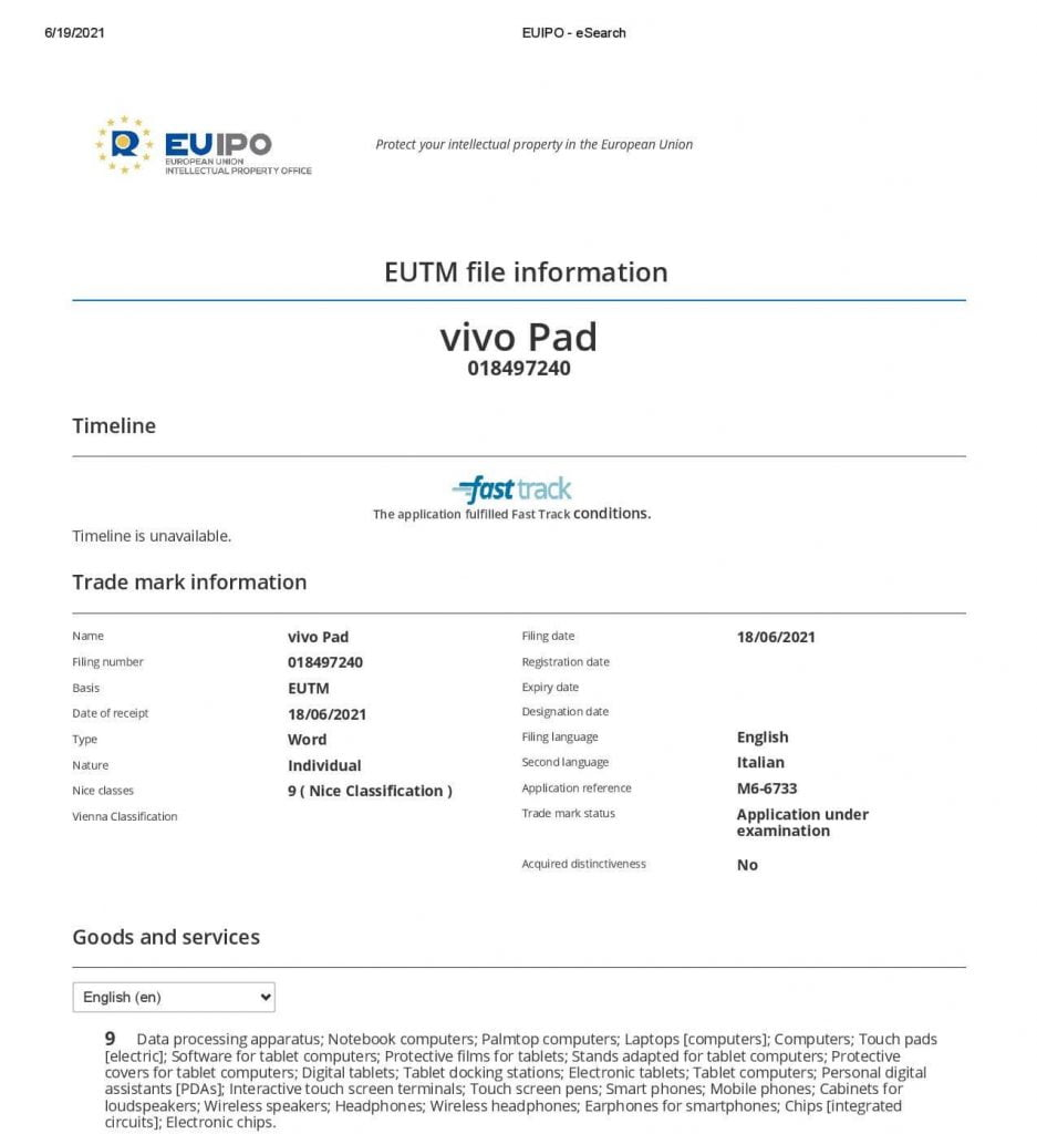 Vivo-Pad-Trademark